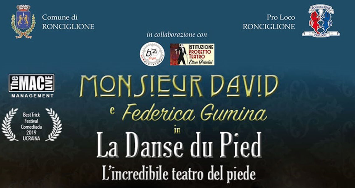 Monsieur David a Ronciglione per Halloween!